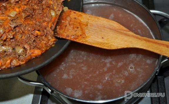 рецепт супа с фасолью и тушенкой рецепт