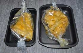 В любом случае - мясо запечется лучше и будет мягче, если имеет перед посадкой в духовку комнатную температуру. Т.е. из холодильника мясо надо достать заранее. Духовку предварительно разогреваем до 200°. Большой рульке потребуется в среднем полтора часа или больше для готовности, маленьким - меньше.