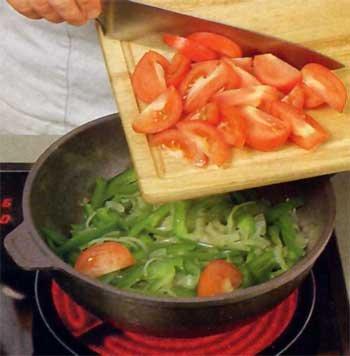 Баранина с овощами и курагой фото №4