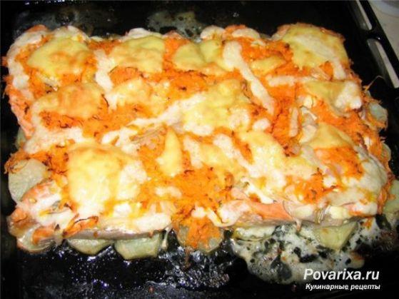 Приготовить рыбу в фольге в духовке с картошкой рецепт пошагово