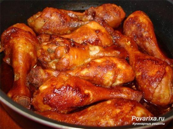 куриные ножки запечённые рецепт