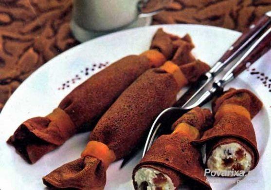 Шоколадная начинка для блинчиков рецепты