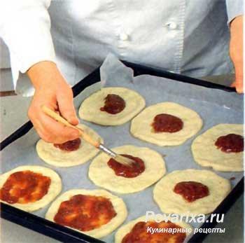 мини-пицца рецепт с фото