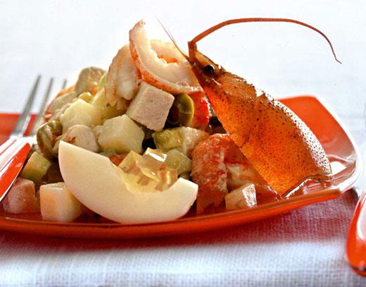 Старинный салат от оливье