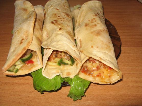 мексиканская лепешка с курицей фото рецепт