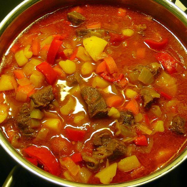 рецепт супа гуляша