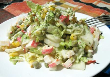 салат из савойской капусты рецепты с фото