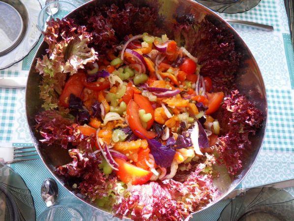 Салат из помидоров и селедки – рецепт