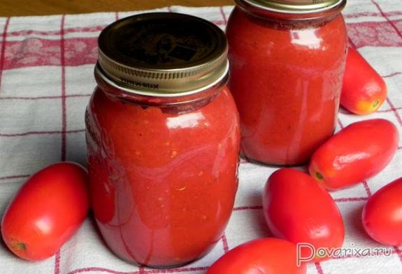 пассата из томатов рецепт