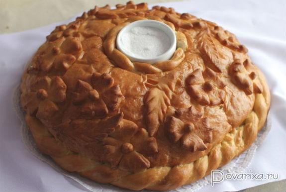 Торт хлеб соль фото