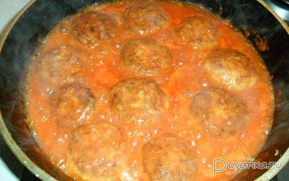 Как приготовить тефтели в томатном соусе в кастрюле