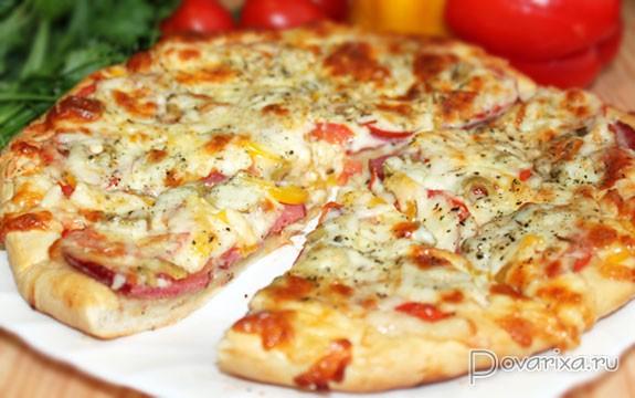 Очень простой рецепт пиццы с фото! » Татьяна Бедарева 56