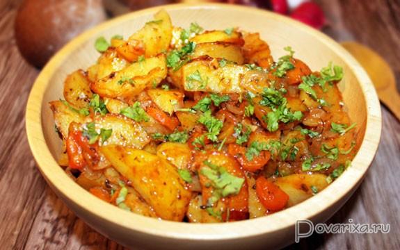 как запечь отварной картофель в духовке рецепт