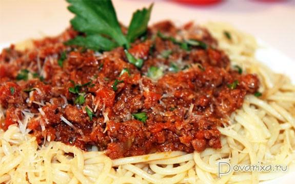 паста болоньезе классический рецепт