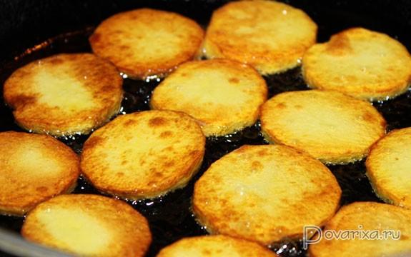 Картофель духовке кружочками рецепт фото