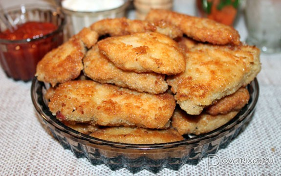 Куриные наггетсы  рецепты с фото на Поварру 27 рецептов