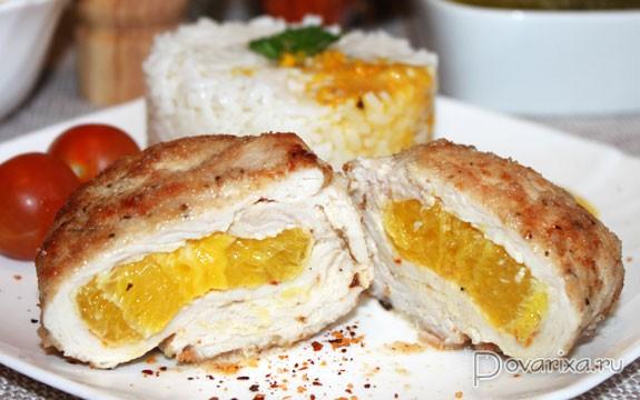 Индейка с апельсинами рецепты с фото