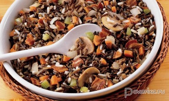 блюда из дикого риса