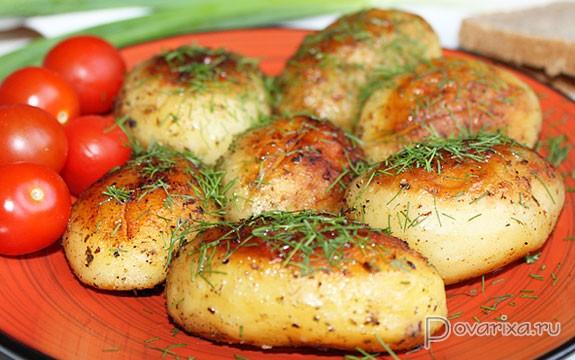 Картошка в кожуре в мультиварке рецепты с фото