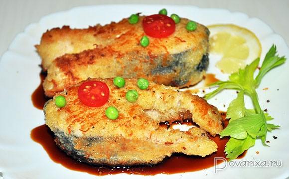 рыба в кляре пошаговый рецепт с фото горбуша