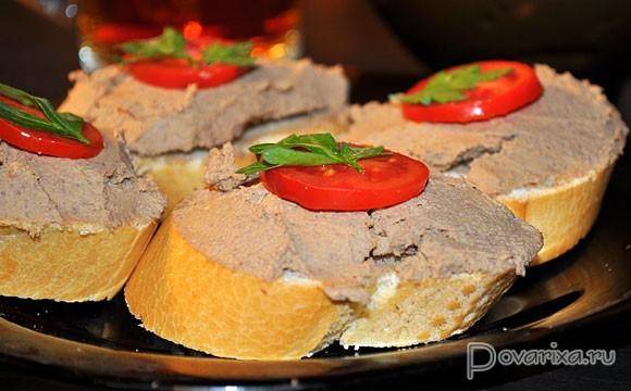 паштет из телячьей печени рецепт с фото