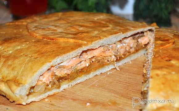 Пироги с рыбой и мясом