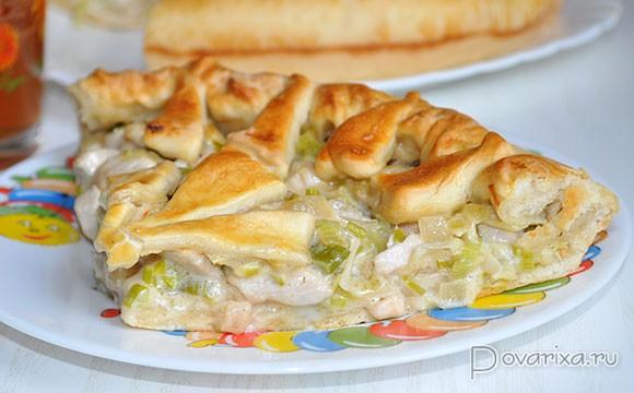 Рецепты пирожков в духовке с курицей