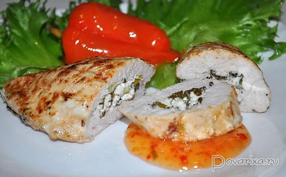 Куриное филе в духовке со специями рецепт с пошаговыми 85
