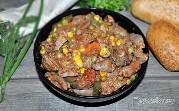 Блюда из субпродуктов курицы