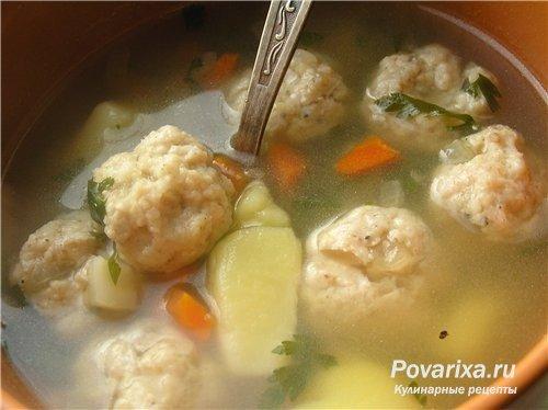 рецепт детских фрикаделек для супа