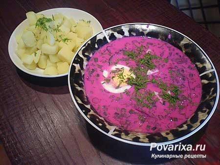 рецепты литовских супов