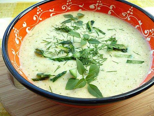 Зеленый суппюре из стручковой фасоли с сыром рецепт с