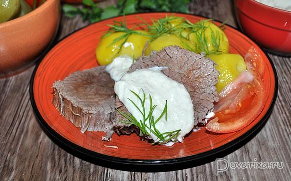 что можно приготовить из вареного мяса говядины рецепты