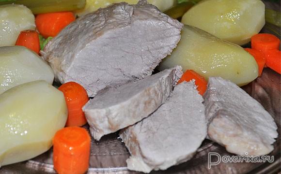 Вареная свиная грудинка рецепты приготовления авто ру тюнинг на хаммер