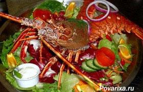 Простой способ приготовить лобстера (омара)