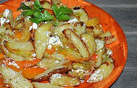 Картофель, жаренный по-гречески