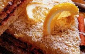 Торт из вафель замороженный
