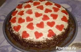 Торт «Сердечко»