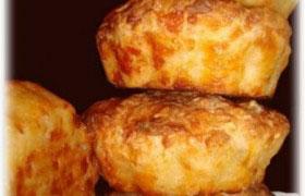 Кексики с плавленым сыром