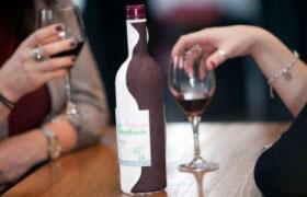 Бутылка из бумаги