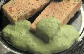 Зелёный луковый соус