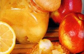 Варенье из яблок с лимоном и корицей