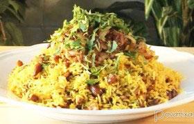 Плов индийский без мяса