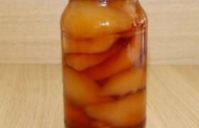 Маринованные персики