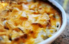 Картофельный гратен (запеканка)