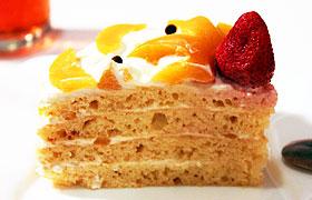 Торт на коржах с плавленым сыром