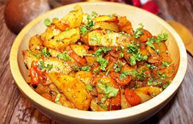 Запеченный в духовке картофель