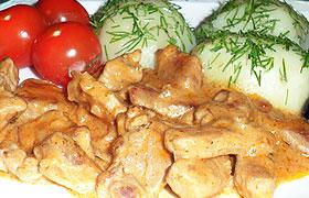Бефстроганов из свинины – рецепт с пошаговыми фото