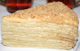Наполеон, торт
