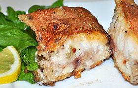 Рецепты морской окунь жареный на сковороде